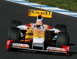 F1 GP de Chine : Renault a le diffuseur