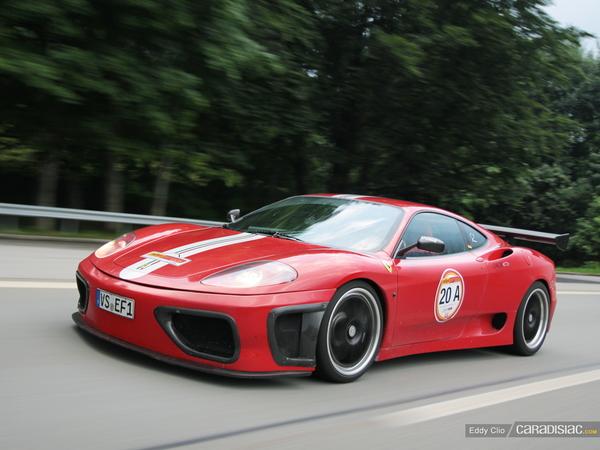 Photos du jour : Ferrari 360 Challenge Stradale Novitec Rosso (Rallye Germania)