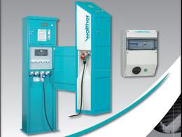 Mondial de Paris 2010 : l'infrastructure de recharge électrique de la société Walther