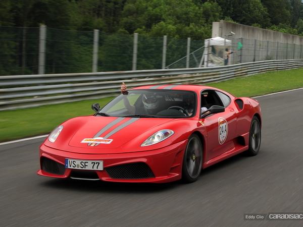 Photos du jour : Ferrari 430 scuderia  (Rallye Germania)