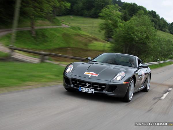 Photos du jour : Ferrari 599 HGTE (Rallye Germania)