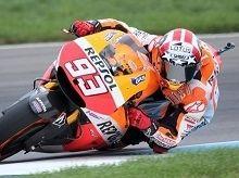 Moto GP - Indianapolis J.3:  Marc Marquez a trouvé ça dur
