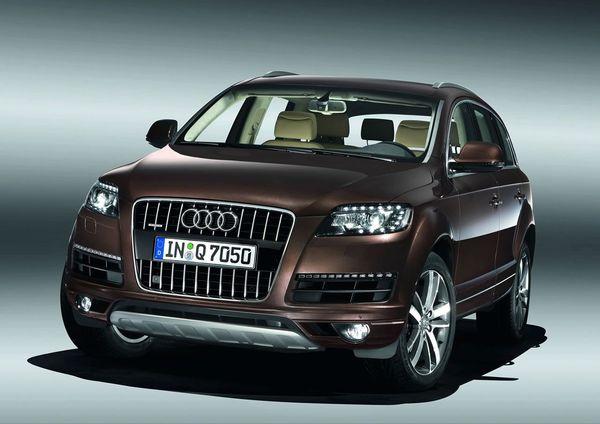 Audi Q7 restylé: officiel!