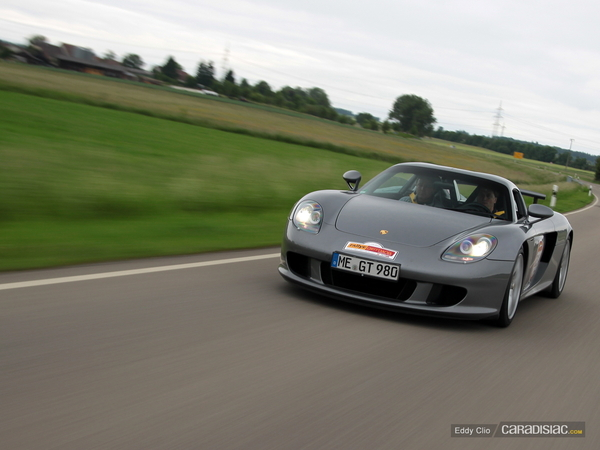 Photos du jour : Porsche Carrera GT (Rallye Germania)