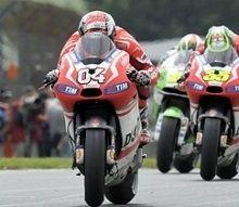 Moto GP - Indianapolis J.3: un feu de paille et de joie pour Dovizioso