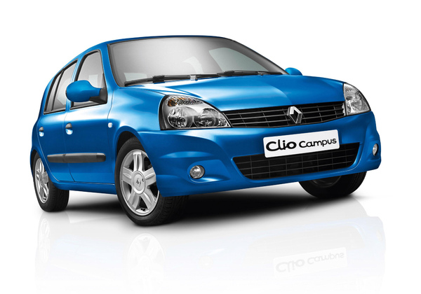 La Renault Clio Campus restylée pour affronter la Peugeot 206+