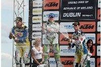 Mx1 à Dublin : Les 2 pilotes Suzuki sur le podium