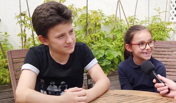 L'auto des petits experts - Daphné et Even (7 et 11 ans) rêvent d'une Porsche Taycan et d'un camping-car