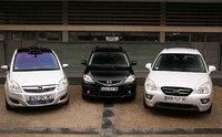 Mazda 5 restylé/Opel Zafira relifté/ Kia Carens : le bal des outsiders