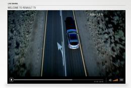 Une boutique en ligne et une web TV : Renault n'en finit plus d'investir la toile.