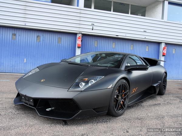 Photos du jour : Lamborghini Murcielago LP670-4 SV