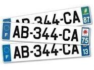 Sécurité Routière - L'infraction du jour: L'usage de fausse plaque ou inscription sur un véhicule