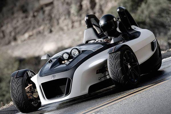 Volkswagen GX3 : VW se met au tricycle