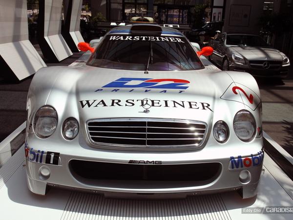 Photos du jour : Photos du jour : Mercedes CLK GTR
