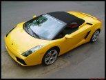 La photo du jour: Lamborghini Gallardo Roadster.