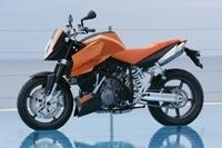 KTM DUKE 990  Super Duke : orange mécanique!