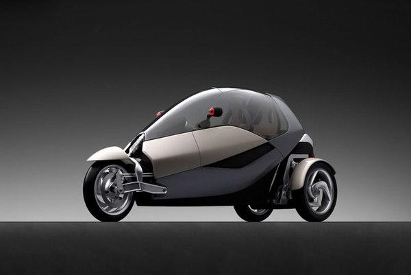 Clever : le véhicule à trois roues intelligent
