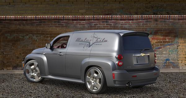 SEMA Show - Chevrolet HHR Panel SS Concept : le tôlé qui dépote