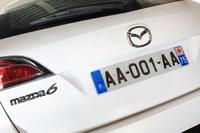 """A Mazda la toute 1ère """"nouvelle immat."""""""