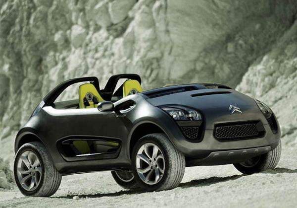 Citroën C-Buggy : pour les loisirs du futur…