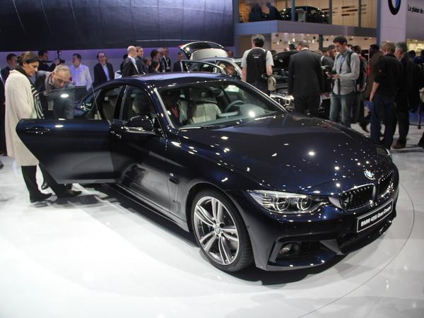 Vidéo en direct de Genève 2014 - BMW Série 4 Gran Coupé : on rentre A5