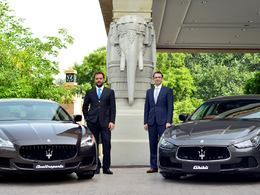 Maserati est de retour en Inde avec trois concessions