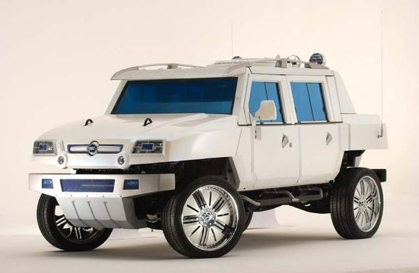 Fiat Oltre : le Hummer transalpin