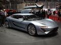 Vidéo en direct de Genève 2014 - Quant e-sport limousine : une technologie issue de la Nasa