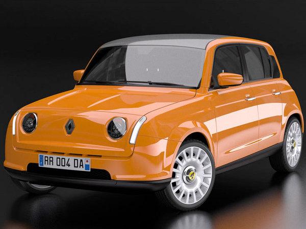[Design] Renault 4 Ever par David Obendorfer : crédible