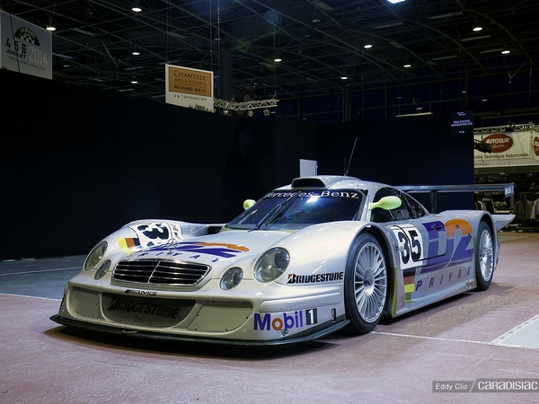 Photos du jour : Mercedes CLK LM (Rétromobile)