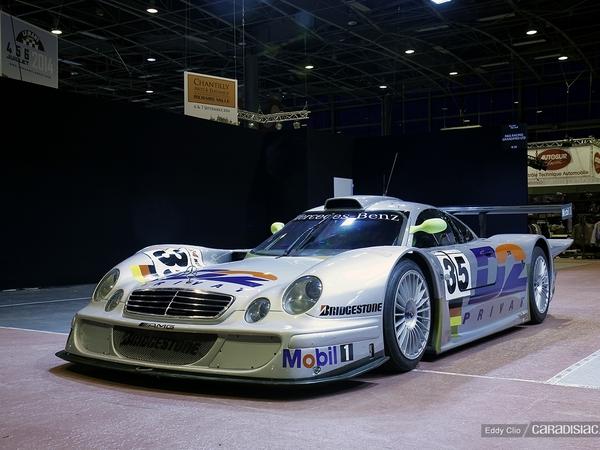 Photos du jour : Mercedes CLK LM (Rétromobile)