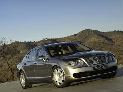Bentley Continental Flying Spur : Le B ailé prend son envol