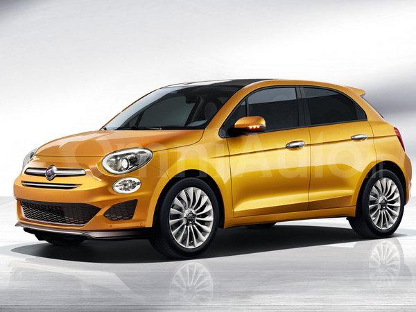 Un designer greffe cinq portes à la nouvelle Fiat 500