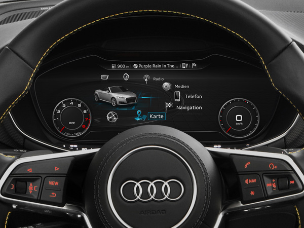 L Audi A3 Restyl 233 E Gagnera Le Compteur Digital Virtual Cockpit