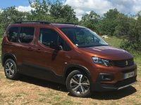 Peugeot Rifter (2018) : les premières images de l'essai en live + impressions de conduite