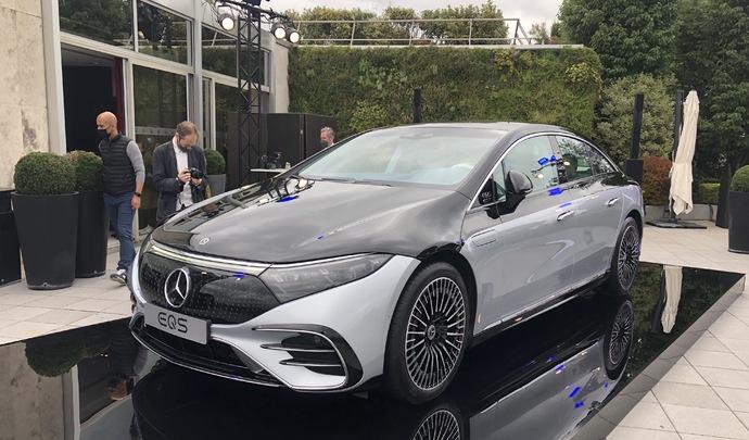 Présentation vidéo - Mercedes EQS (2021) : a star is borne