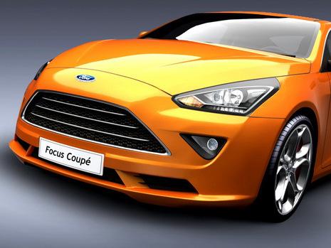 Design - Une Ford Focus coupé, pourquoi pas?
