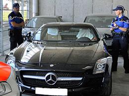 Very bad trip pour un conducteur de Mercedes SLS AMG en suisse : flashé à 290 km/h, voiture confisquée, 782 000 euros d'amende