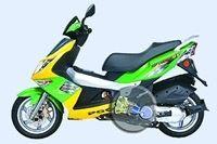 Un scooter PGO sauce Nasa.