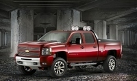 SEMA Show : Chevrolet HD Crew Z71 Big Red