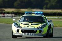 Une autre Lotus Exige Police