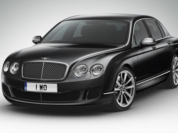 Bentley Continental Flying Spur Arabia : pour les Emirats