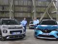 Renault Captur VS Citroën C3 Aircross : première confrontation - Salon de l'auto Caradisiac 2020