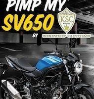 Jeu: Suzuki, Pimp my SV650 avec KSC