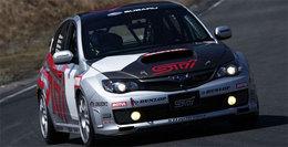 Une Subaru Impreza WRX STi aux 24 Heures du Nürburgring