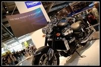 Salon de Milan 2009 en direct : La Triumph Rocket III Roadster