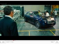 La Rolls Royce Phantom Coupé V16 9.0l du film Johnny English reborn est bien réelle !
