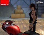 Ducati et Tomb Raider : Un mélange parfait.