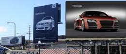 Pub : Audi demande à ses fans de répondre à BMW !