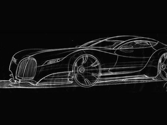 Future Morgan Eva GT: un nouveau sketch